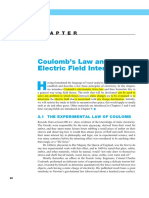 Chapter 2 Coulob Law and Eletric Field Intensity