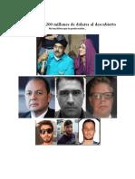 UN ASALTO A PDVSA DE $1.200 MILLONES  AL DESCUBIERTO
