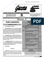 Decreto Ejecutivo No. PCM-041-2013 Estado de Emergencia