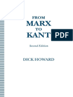 Dick Howard (auth.) - From Marx to Kant (1993, Palgrave Macmillan UK).pdf