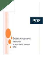 Epidemiología Descriptiva- Vanina