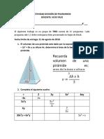 Trabajo de Division de Polinomios