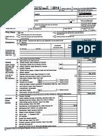 Zephyr Teachout Tax Returns