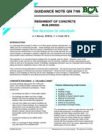 Refurbishment of Concrete Buildings the Decision to Refurbish (Sample)