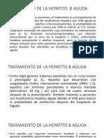 Tratamiento de La Hepatitis Aguda