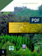 Plantaciones Forestales.