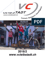 Vereinsheft Veloclub Leibstadt 2018/2