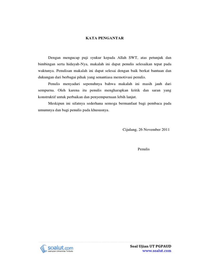 Download Contoh Makalah Ut Pgpaud Paud4201 Bermain Dan Permainan Anak