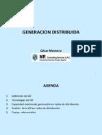 """Charla Magistral """"La Generación distribuida en el país"""""""