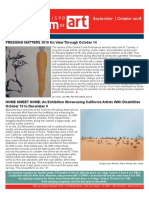 SLOMA ArtNews Sept Oct 2018