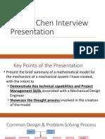 Dennis Chen Interview Presentation