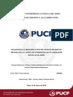 Zuta Rios Diagnostico e Identificacion de Oportunidades de Mejora en La Cadena de Suministro de Un Operador Movil en El Peru