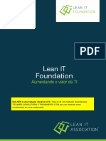 LITA Lean IT Foundation Publication Portugues