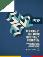 Autonomías y condenación territorial y urbanística