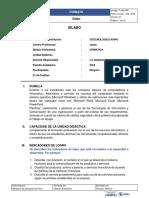 F-JAA-005 - Formato de Sílabo vs. 01