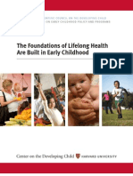 Foundations of Lifelong Health Are Built In Early Childhood