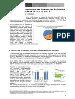 Estadistica Preliminar Del Subsector Electrico - Julio 2016 Rev4