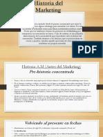 Historia Del Marketing CARLOS MARQUEZ