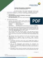 PENGUMUMAN PELELANGAN (E TENDERING) PEKERJAAN PENYEMPURNAAN FASILITAS TERMINAL PONTIANAK.pdf