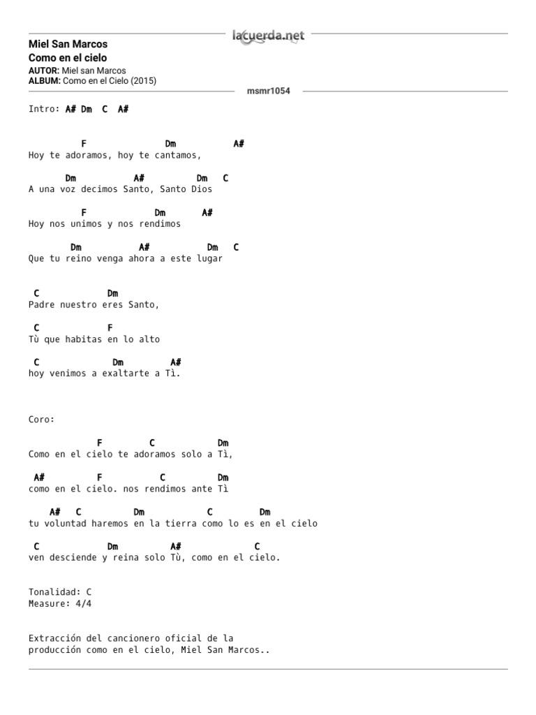 Vamos a cantar acordes pdf to word