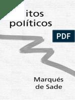 Escritos Políticos - Marqués de Sade