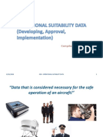 Operational Suitability Data (Osd) - Developing, Approval, Implementation