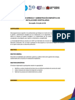Dip Gerencia y Administracion Energica Hospitalaria