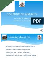 Disorders of Immunity Edited