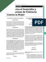 LeyContraFemicidio