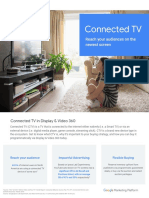 Connected TV Buying in DV360 Best Practices