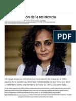 La ONG-ización de La Resistencia