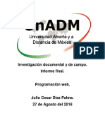Investigación Documental y de Campo.