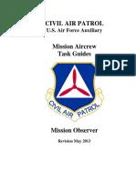 Mission Observer Task Guide