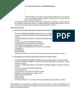 Requisitos Inscripcion Modalidad Distancia
