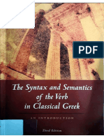 Albert Rijksbaron, The Syntax and Semantics of the Verb in Classical Greek