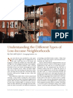 Understanding the Different Types of Low-Income Neighborhoods