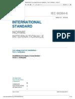 IEC 60364-6-2016 Low Voltage Electrical...Allations – Part 6 Verification