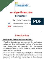 Analyse Financiére Par Karim Economiste