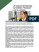 Aprobaron el proyecto del Diputado Martínez que establece