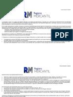 Inscripcion de Sociedades Mercantiles