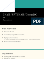 CAMB Lecture