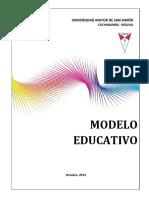 Modelo Educativo UMSS(Vers DDC DPA 2014)