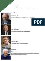 5 Cientificos Que Ganaron Premios Nobel y Sus Aportes