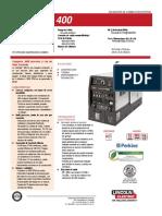 Ficha Tecnica Vantage400
