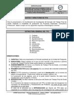 ES-AET-601-06 - Requisitos Metodologicos Minimos Para La Presentacion Del TFG Por La Modalidad de Graduacion Proyectos Especiales Co