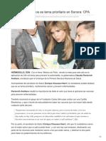 18-02-2018 - Mantenernos Sanos Es Tema Prioritario en Sonora CPA - Expreso
