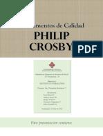 Fundamentos de Calidad de Philip Crosby