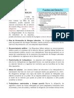 10 Principales Normas Laborales