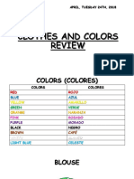Clothes and Colors Review
