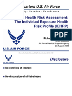 Enhancing Health Risk Assessment:The Individual Exposure Health Risk Profile (IEHRP)